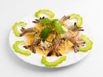 กุ้งแช่น้ำปลา - ร้านอาหาร แม่ลาปลาเผา สิงห์บุรี