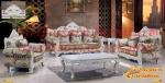 ชุดโซฟาหลุยส์ โครงไม้แกะสลักสีขาว งานแกะละเอียดมากๆค่ะ - Siripaisalrungrueng Furniture