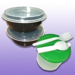 ผลิตภัณฑ์กล่องบรรจุอาหารพลาสติก