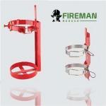 เข็มขัดถังดับเพลิงและหูแขวน