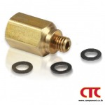 CLIPPARD MCV-1 CHECK VALVE, BRASS FITTING