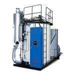 หม้อน้ำแบบไหลผ่านทาง Drumless multi tube once-through boiler