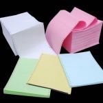 กระดาษต่อเนื่องคอมพิวเตอร์ปอนด์สี