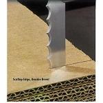 ใบมีดแบบสายพานตัด โฟม กระดาษแข็ง