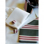 Men's Gift - Silk Cuff Links
