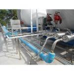 ติดตั้งระบบท่อแก๊สหน้าถังเก็บแก๊สเหลวชนิดต่างๆ