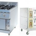 เตาทำอาหาร ตู้นึ่งไฟฟ้า เตาแก๊ส เครื่องครัว อุปกรณ์ทำอาหาร