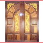 ประตูไม้สักทอง