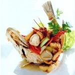 ปลาทอดผัดเม็ดมะม่วงหิมพานต์
