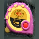 ตลับเมตร Measuring Tape (DM998 Pink+Yellow Fengshui)