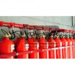 GAS SUPPRESSION SYSTEM (Novec 1230, FM200, CO2)