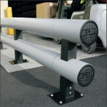 Armco Barrier - Double Rail กันชนเสา