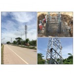 PROJECT : Steel Tower 115 KV. Wangsapung, Loei