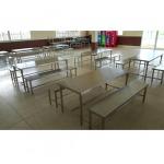 โต๊ะเก้าอี้สแตนเลส