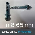 สกรู8 65mm  ENDURO FRAME