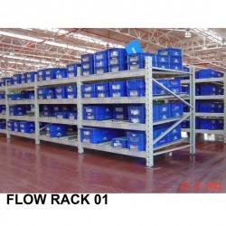 Flow Rack - บริษัท คิวเบสท์ เอ็นเตอร์ไพร์ส จำกัด
