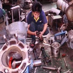 ซ่อมเครื่องอัดลม ซ่อมปั๊มลม ซ่อมเครื่องสำรองไฟ ซ่อมมอเตอร์  - อิทธิแสง มอเตอร์