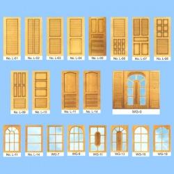 ประตูไม้ - ภูเก็ต เอ แอนด์ พี ค้าไม้และวัสดุภัณฑ์