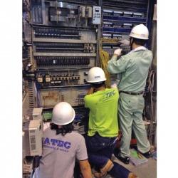 งานตู้ Control, MDB, DB - บริษัท เอเทค เอ็นจิเนียริ่ง แอนด์ เซอร์วิส จำกัด