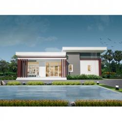 บ้าน AQ-1402 - บริษัท หาดใหญ่ สร้างบ้าน จำกัด