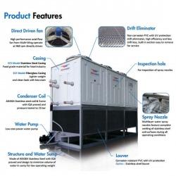 เครื่องทำความเย็น เครื่องระบายความร้อน คอนเดนเซอร์ อีแวป - บริษัท ฮีทอะเวย์ จำกัด