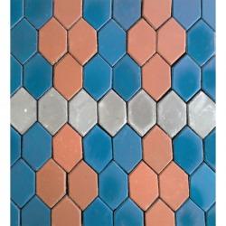 บล็อกแผ่นทางเท้า - โรงงานไทยอุตสาหกรรมเคหะภัณฑ์-บล็อกปูถนน