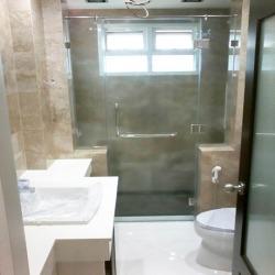 ติดตั้งฉากกั้นอาบน้ำ - บริษัท เอ โอ วาย เชาเวอร์ จำกัด