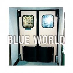 Traffic door / Swing door - ม่านห้องเย็น บลูเวิลด์