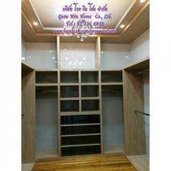 ตู้เสื้อผ้าห้องแต่งตัว - บริษัท โกร วิน โฮม จำกัด