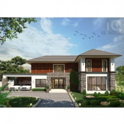 ออกแบบบ้าน - บริษัท ไอคิว เฮ้าส์ จำกัด