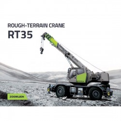 Rough-Terrain Crane 35 Tons - บริษัท โปรแมช (ประเทศไทย) จำกัด