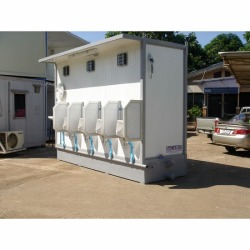 Mobile toilet Container - Fortress Marine Co Ltd