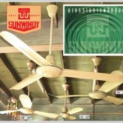 พัดลมเพดาน พัดลมอุตสาหกรรม ปั๊มน้ำ - บริษัท ซันวินดี้ อิเล็คทริค จำกัด