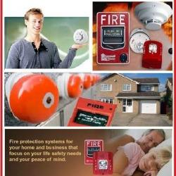 ระบบรักษาความปลอดภัย สัญญาณเตือนไฟไหม้ - Next Star Communication Co Ltd