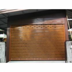Steel Rolled Coated Door - M J Steel Co Ltd