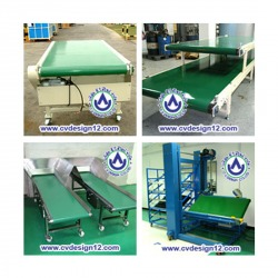 PVC Belt Conveyor - C V Design Co Ltd
