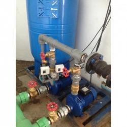 จำหน่ายพร้อมติดตั้งปั๊ม BOOSTER PUMP - ระบบบำบัดน้ำเสีย โซลิด อินเตอร์เทค