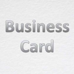 Business Card - S C T Paper LP