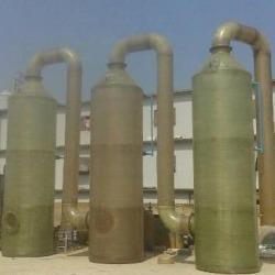 ถังบำบัดอากาศ (Wet Scrubber) - J & N Fiberglass Co Ltd
