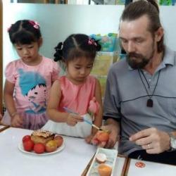 สอนภาษาอังกฤษเด็กเล็ก