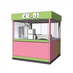 CK - 01 ซุ้มกาแฟ - รับสร้างบ้านช่างดี