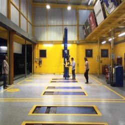ทดสอบไฟฟ้าภายในอาคารB-Quik