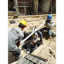Install the Phuket Waste Water Pump - Solid Intertech Co Ltd (Phuket Branch)