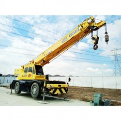 Rent a 25 ton crane - Phadaeng Crane Korsang Co., Ltd.