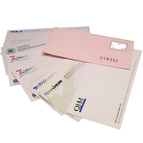 กระดาษหัวจดหมายและซองจดหมาย กระดาษหัวจดหมายและซองจดหมาย