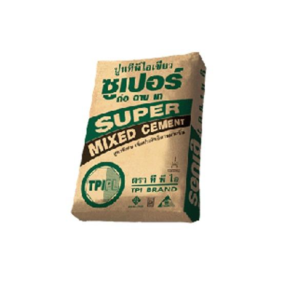 ปูนทีพีไอเขียวซูเปอร์ ปูนทีพีไอเขียวซูเปอร์  ปูนทีพีไอ  Super Mixed Cement
