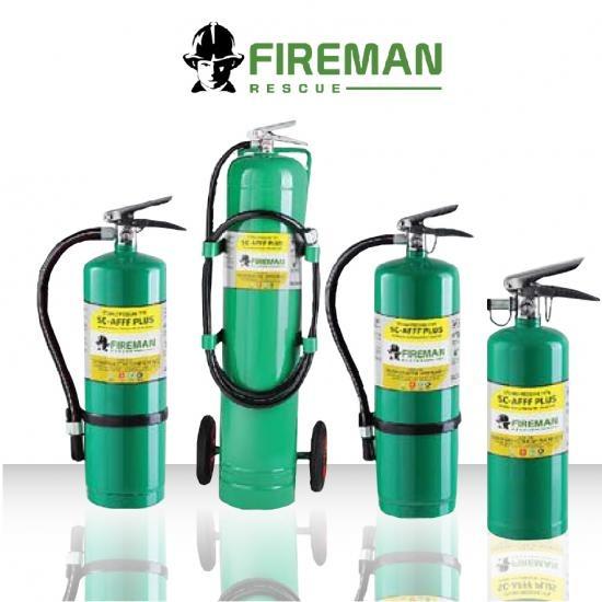 เครื่องดับเพลิงสูตรน้ำ SC AFFF PLUS เครื่องดับเพลิงสูตรน้ำ SC AFFF PLUS