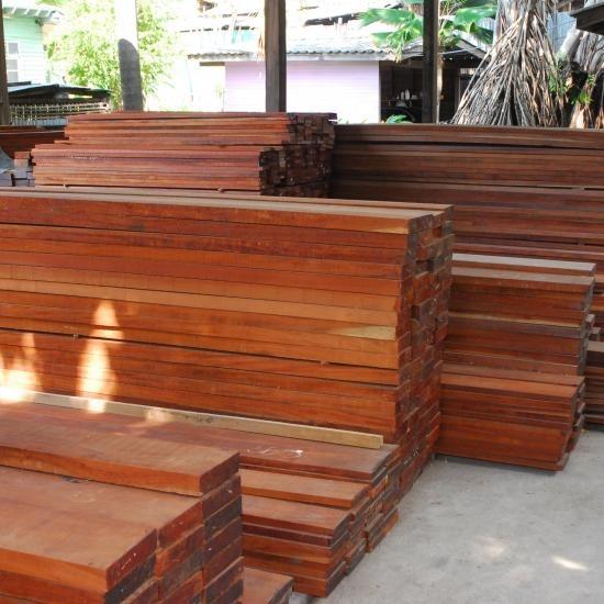 ไม้แดงขนาดต่างๆ - ห้างหุ้นส่วนจำกัด บางโพอบไม้  - ไม้แดง