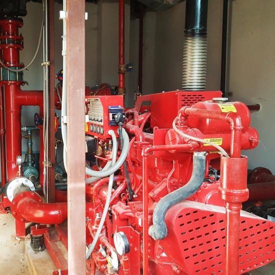 ปั๊มแรงดัน และปั๊มจ๊อคกี้ (Fire Pump & Jokey Pump) ปั๊มแรงดันและปั๊มจ๊อคกี้