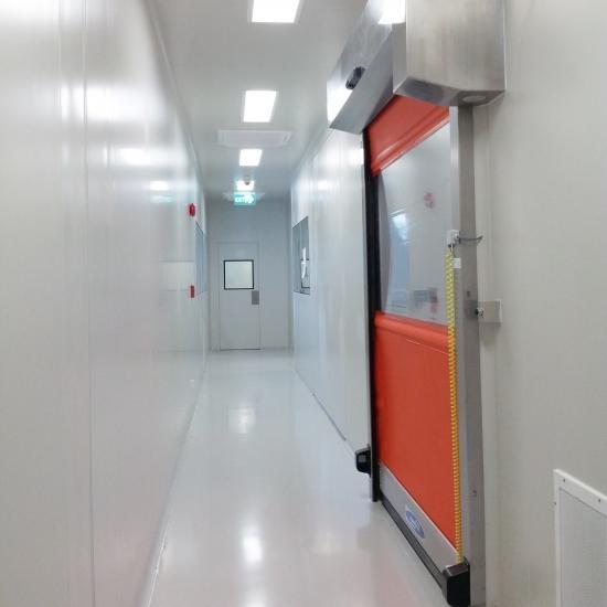 ห้องคลีนรูม Class 10,000 & 100,000 สร้างห้องคลีนรูม class10000  รับออกแบบห้องคลีนรูมclass10000&100000